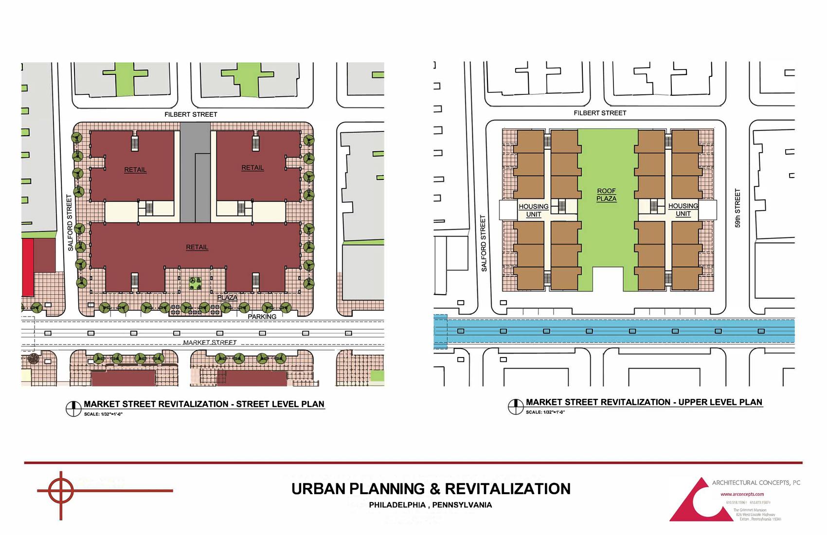 Urban Planning & Revitalization - Master Planning